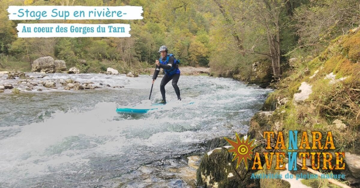 Image 0 : STAGE DE STAND-UP PADDLE EN RIVIERE